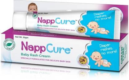 GREEN CURE Nappcure Herbal Baby's Diaper Rash Cream with Zincum and Hamamelis
