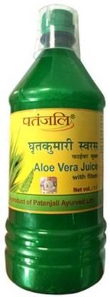 PATANJALI Aloe Vera Juice Fibre (1L)