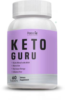 Perennial Lifesciences Keto Guru Tablets for weight loss with pure...
