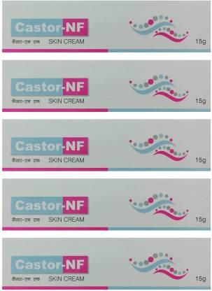 CASTOR NF Skin Cream (Pack of 5*15G)