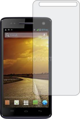 MOBART Tempered Glass Guard for MICROMAX CANVAS 2 COLOURS A120 (ShatterProof, Flexible)