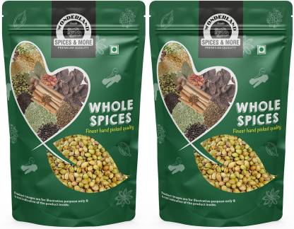 WONDERLAND Foods Whole Coriander Seeds (Sabut Dhaniya)