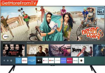 SAMSUNG 138 cm (55 inch) Ultra HD (4K) LED Smart TV 2021 Edition with Voice Search