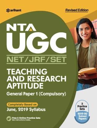 Nta UGC Net/Jrf/Slet General Paper-1 Teaching & Research Aptitude 2021