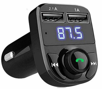 VENTAGE v4.2 Car Bluetooth Device with FM Transmitter, Car Charger, USB Cable, MP3 Player
