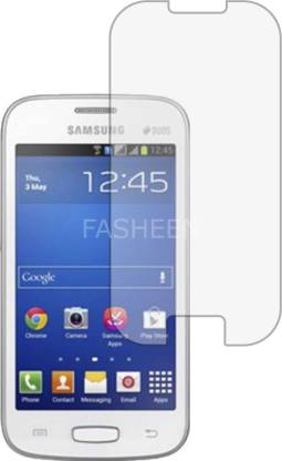 Fasheen Tempered Glass Guard for SAMSUNG GALAXY STAR PRO DUOS S7262 (ShatterProof, Flexible)
