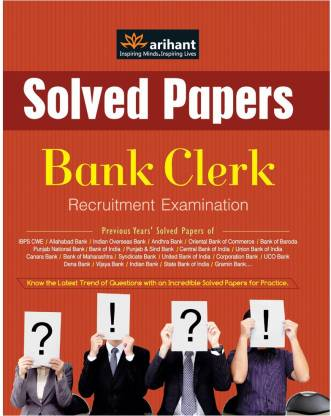 Ibps Solved Papers Bank Clerk Exams - Solved Papers