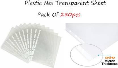 Ushergy Polypropylene Transparent Sheet Protector