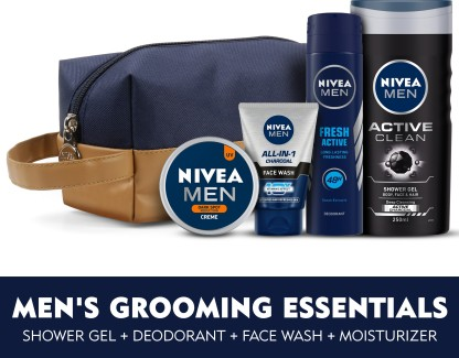 NIVEA Men Combo  (5 Items in the set)