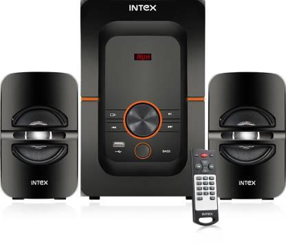 Intex 2.1 Bang Plus FMUB OS 54 W Bluetooth Home Theatre (Black,...
