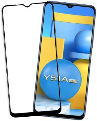 VAlight Edge To Edge Tempered Glass for Vivo Y51A