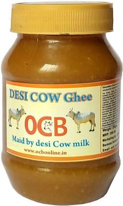 OCB DESHI COW Ghee MAID BY DESHI COW MILK 250gm 100% Neutral Pure (Home & hand Made) Ghee 250 g Plastic Bottle