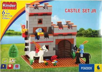 Peacock Kinder Blocks Castle Set No. 2120 Building Blocks for kids