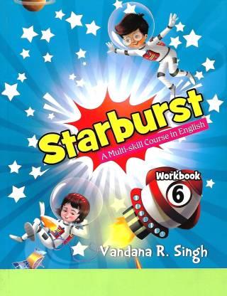 OXFORD STARBURST (A MULTI- SKILL COURSE IN ENGLISH) WORKBOOK CLASS 6