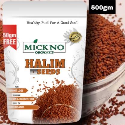 mickno organics Halim Seeds (Garden Cress)Seeds for Weight Loss & Eating Organic Seeds