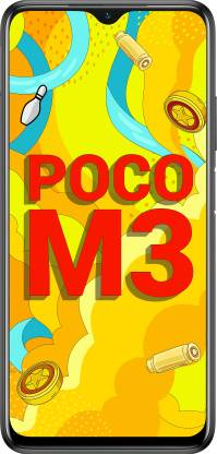POCO M3 (Power Black, 64 GB)