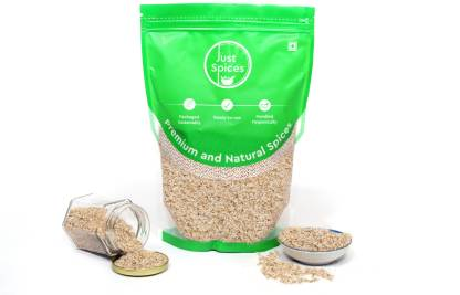 justspices Premium Psyllium Whole Husk (Sat Isabgol) 100% Pure and Natural Fibre Suppliment Plant-Based Protein