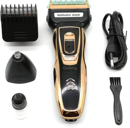 Bamchak GM-595 Nose Ear Beard Trimmer  Runtime: 45 min Grooming Kit for Men & Women