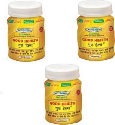 leaf veda Dr. Biswas Good Health Ayurvedic Medicine pack 3