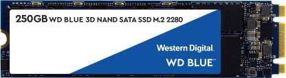 WD Blue M.2 3D 250 GB Laptop Internal Solid State Drive (WDS250G2B0B)