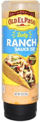 Old ELPaso Zesty Ranch Sauce, Mild Sauce
