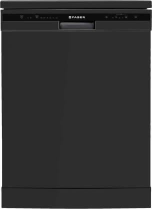 FABER FFSD 6PR 12S Neo Black Free Standing 12 Place Settings Dishwasher