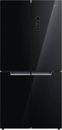 Midea 544 L Frost Free French Door Bottom Mount Refrigerator