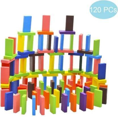 Blossom 120Pc Colorful Wooden Domino