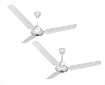 ACTIVA APSRA 5 STAR ( PACK OF TWO) 1200 mm 3 Blade Ceiling Fan