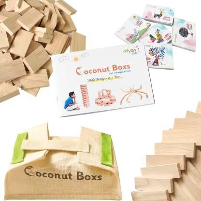 Coconut Boxs Building Blocks For Imagination