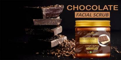 PARK DANIEL Premium Chocolate Facial Scrub- With Vitamin E & Sunscreen Effect-Deep Cleansing, Exfoliation, Pigmentation Removal, Softening & Smoothening, Replenishing & Rejuvenation(200 ml) Scrub