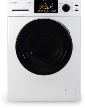 Equator 9 kg Fully Automatic Front Load with In-built Heater White