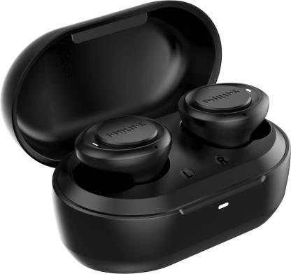 PHILIPS TAT1215BK (TWS) with IPX4 Splash-Proof Design Bluetooth Headset