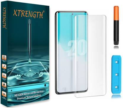 XTRENGTH Edge To Edge Tempered Glass for Samsung Galaxy S20