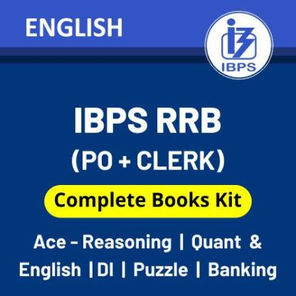 IBPS RRB Books Kit 2021 (Prelims + Mains): IBPS RRB Best Books English Printed Edition