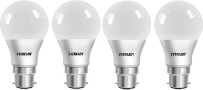 EVEREADY 7 W Round B22 LED Bulb