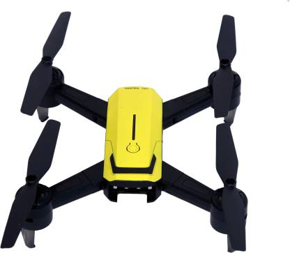 HK ENTERPRISES OFFICIAL Latest 2021 Hasten 720 Yellow Wifi Hd 720P FPV Dual Camera Position Holding Drone Drone