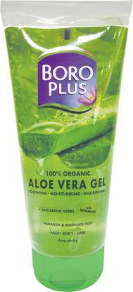 BOROPLUS Aloevera Gel For Face Body And Hair 150ml Face Wash