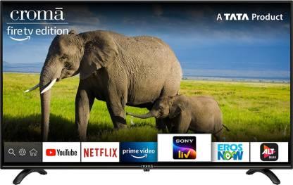 Croma 127 cm (50 inch) Ultra HD (4K) LED Smart TV(CREL7367)
