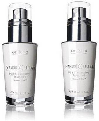 Oriflame Diamond Cellular night restorative treatment 30 ml pack of 2 ( 60 ml )