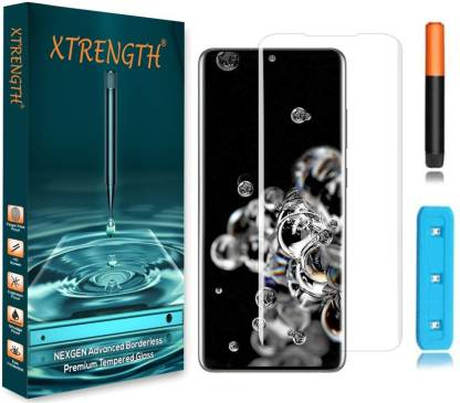 XTRENGTH Edge To Edge Tempered Glass for Samsung Galaxy S21