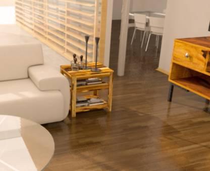 Flipkart Perfect Homes Sheesham Wood Solid Wood Side Table
