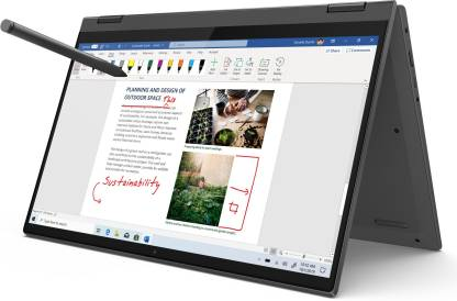 Lenovo Ideapad Flex 5 Core i3 11th Gen - (8 GB/256 GB SSD/Windows 10 Home) Ideapad Flex 5 14LT05 UA 2 in 1 Laptop