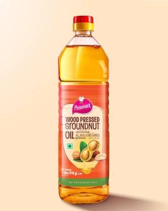 Pasumark Cold Pressed Groundnut Oil Groundnut Oil PET Bottle