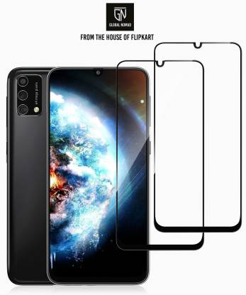 GLOBAL NOMAD Edge To Edge Tempered Glass for Samsung Galaxy M31, Samsung Galaxy F41
