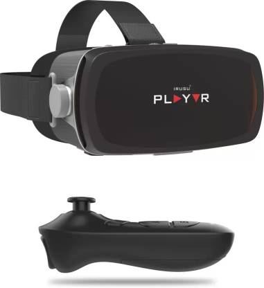 IRUSU Play VR Premium headset with remote.Best VR Box headset for smartphones with gyroscope sensor
