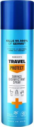 Marico's Travel Protect Disinfectant Surface Cleaner
