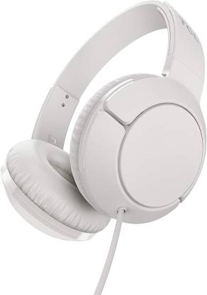 TCL MTRO200 Wired Headset(Ash White, On the Ear)