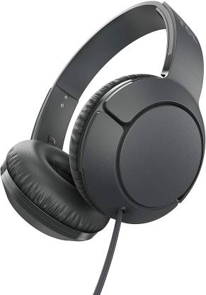 TCL MTRO200 Wired Headset(Shadow Black, On the Ear)