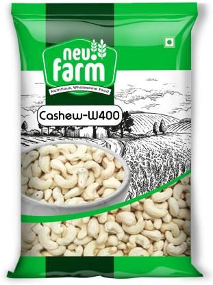Neu.Farm Value - Cashew/Kaju - Whole W400 - Cashew Nuts - 1kg Cashews